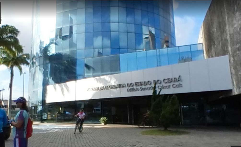 Concurso AL CE: sede da Assembleia Legislativa do Ceará