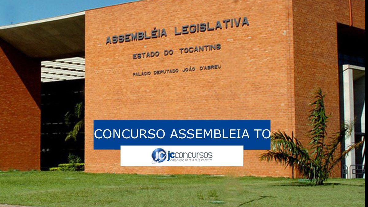Concurso Assembleia TO: sede da Assembleia TO
