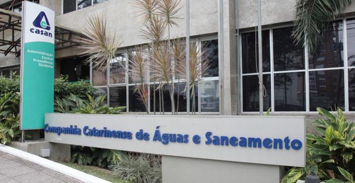 Concurso Casan SC: sede da Casan SC