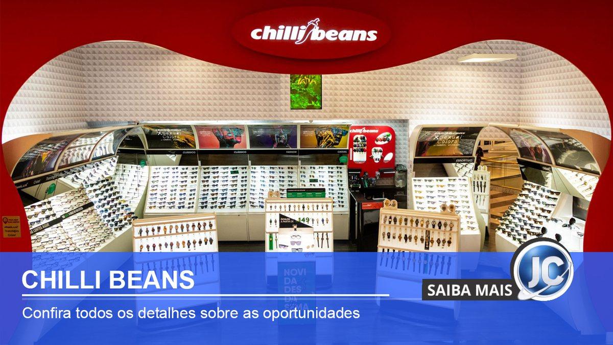 Chilli Beans inaugura lojas e abre 300 novas vagas de emprego