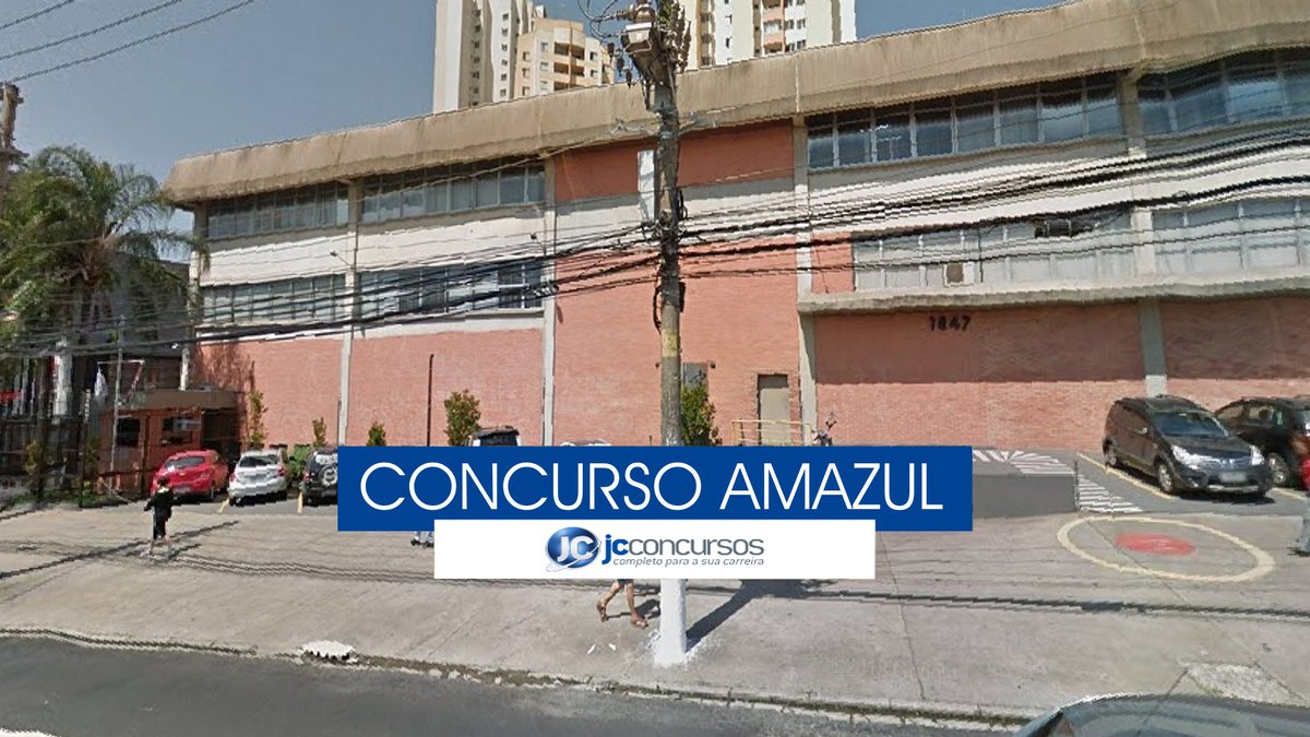 Concurso Amazul - sede da estatal, localizada na capital paulista