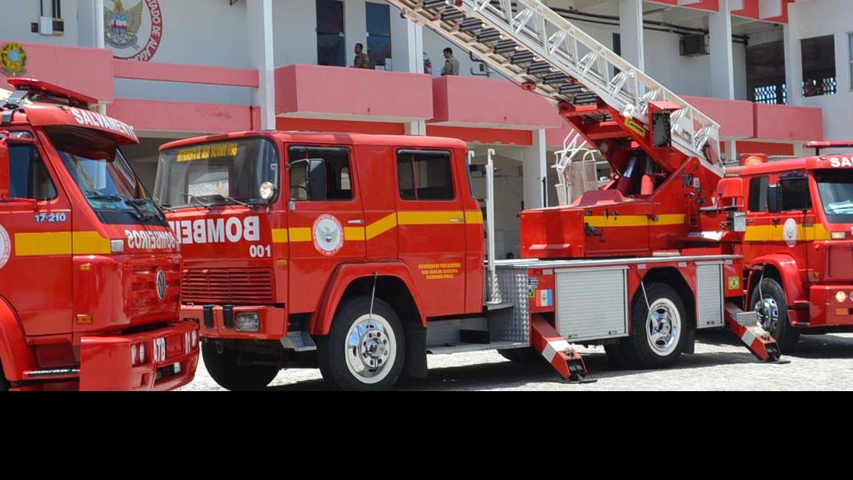 Concurso Bombeiros AL - foto do caminhão