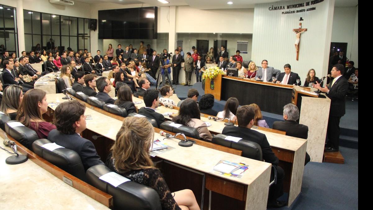 Concurso Câmara de Fortaleza CE - foto da assembleia