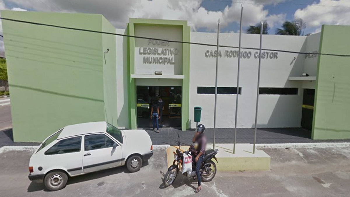 Concurso Câmara de Ouricuri - sede do Legislativo
