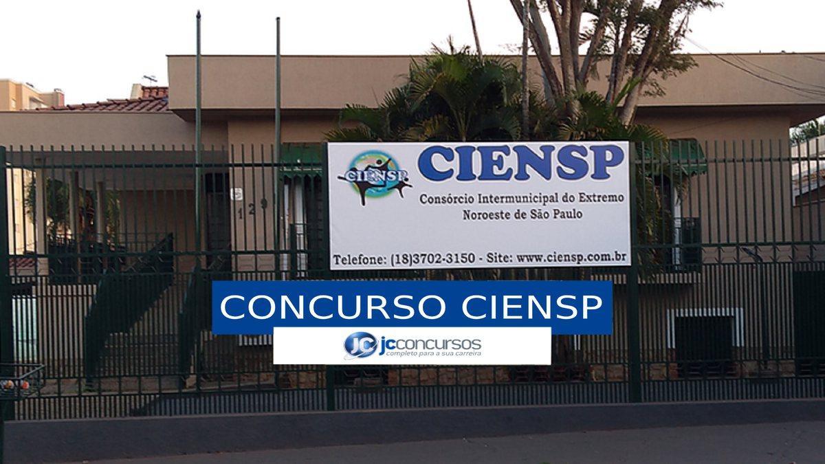 Concurso Ciensp - sede do Consórcio Intermunicipal do Extremo Noroeste de São Paulo