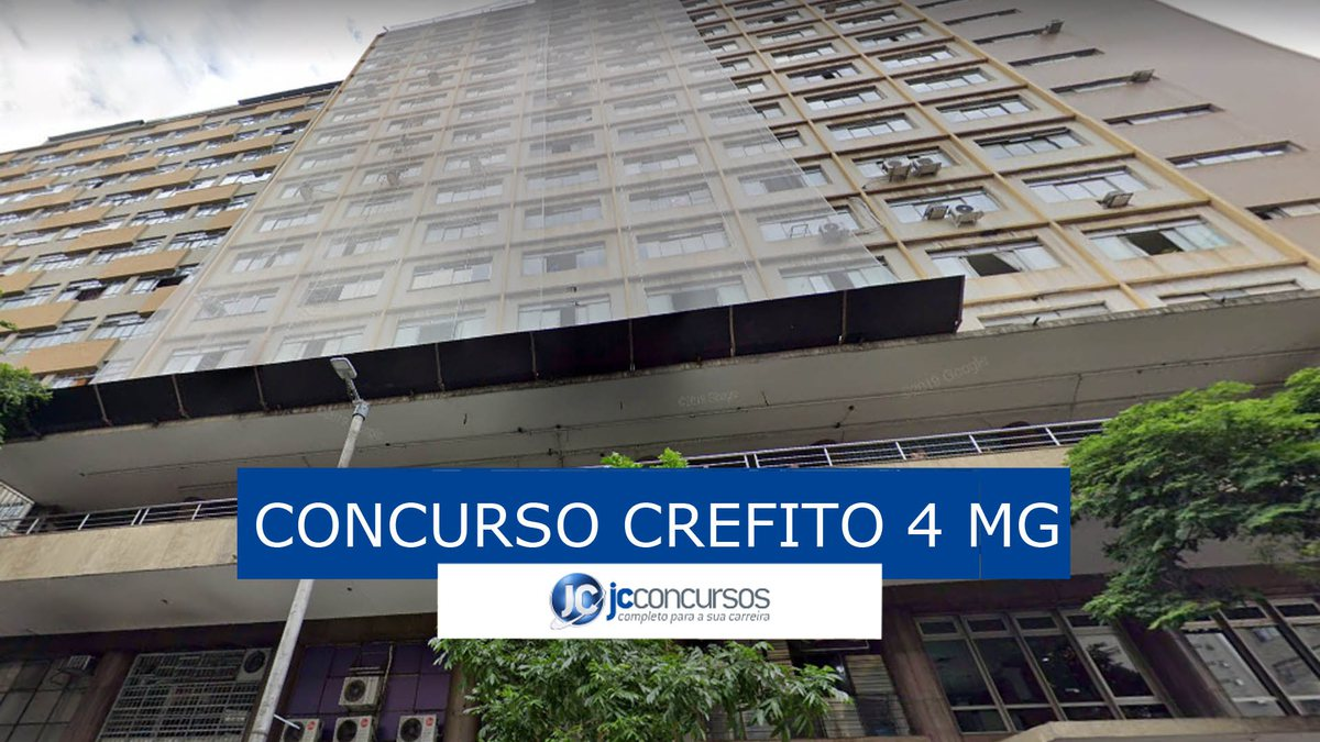 Concurso Crefito 4 MG: sede do órgão