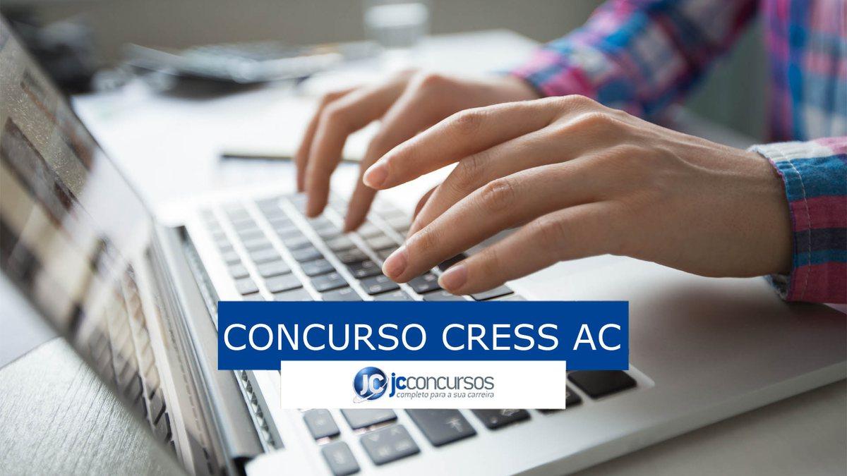 Concurso Cress AC: inscrições pela internet