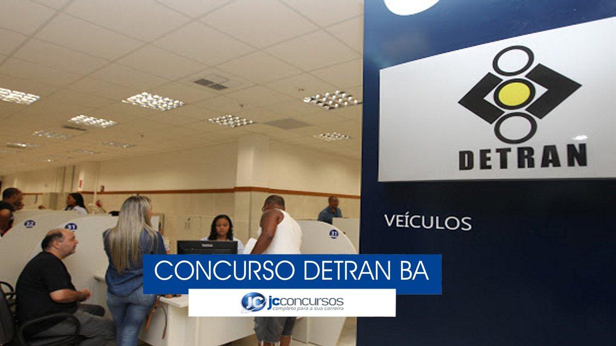 Concurso Detran BA - central de atendimento do Departamento Estadual de Trânsito da Bahia