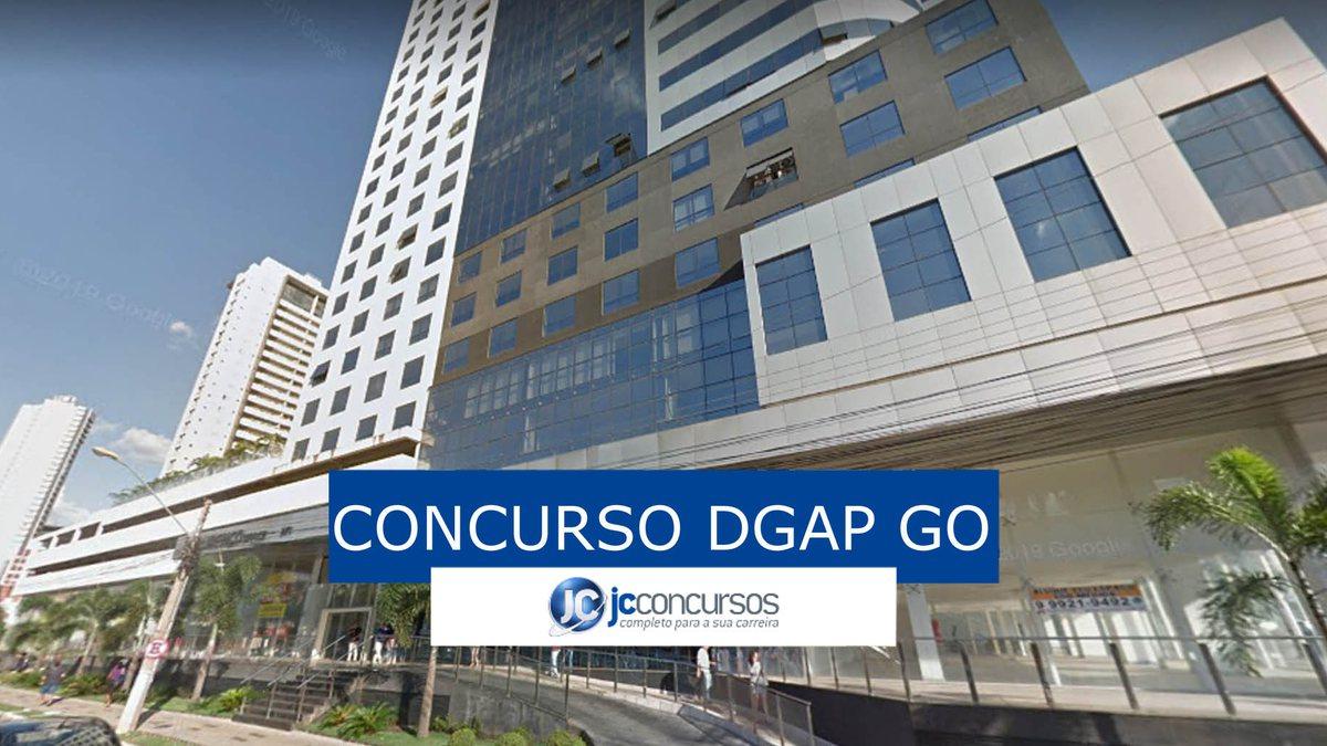 Concurso DGAP GO: sede do órgão