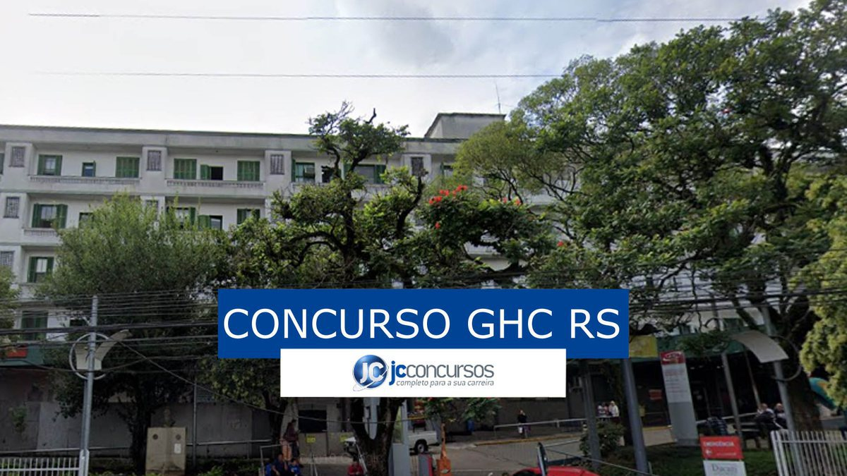 Concurso GHC RS: sede do GHC RS