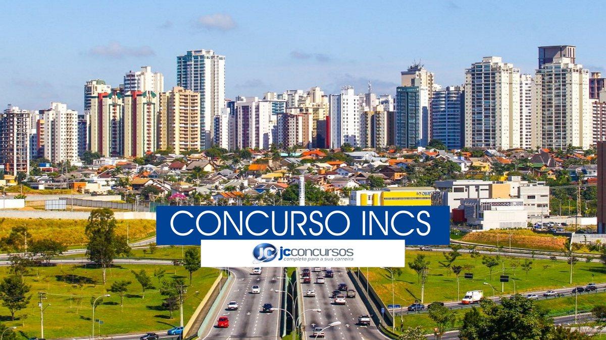 Concurso INCS - vista panorâmica de São José dos Campos