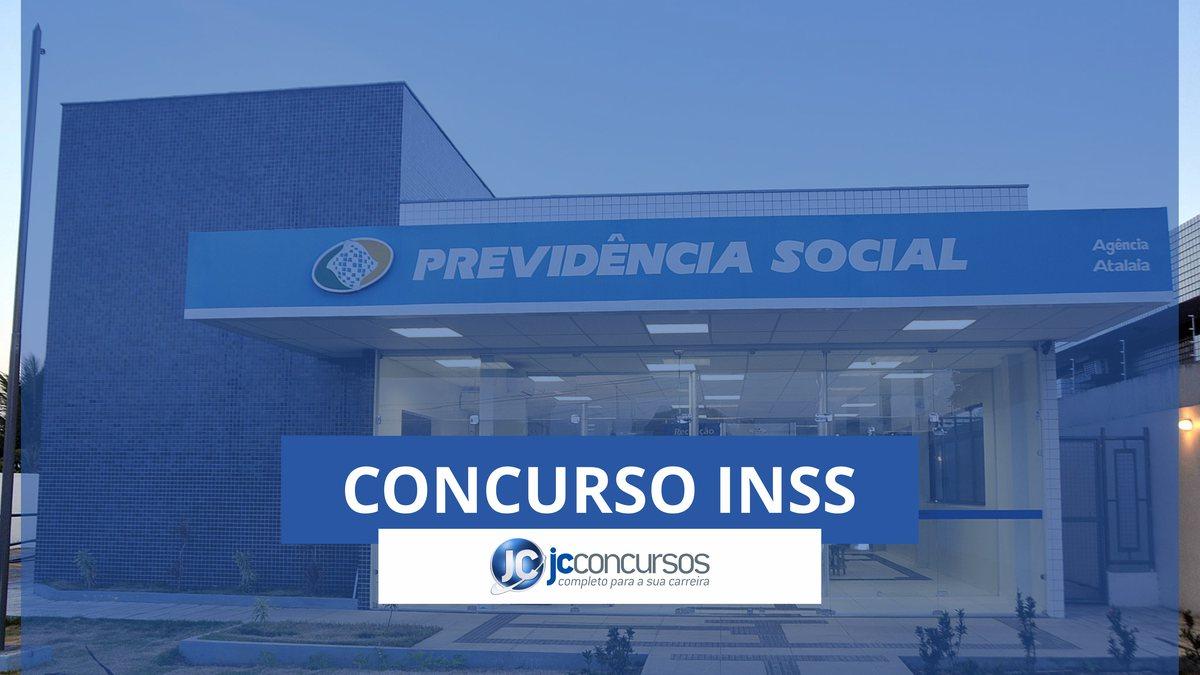Concurso INSS: fachada do INSS