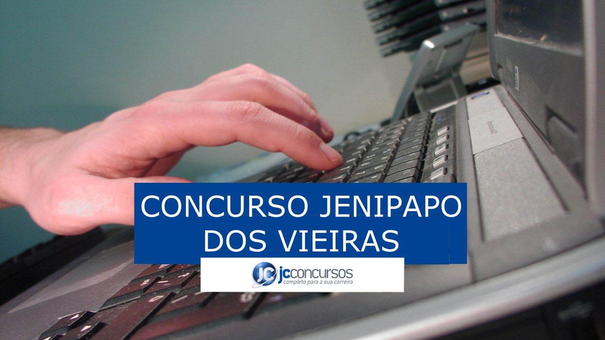 Concurso da Prefeitura Jenipapo dos Vieiras: inscrições pela internet
