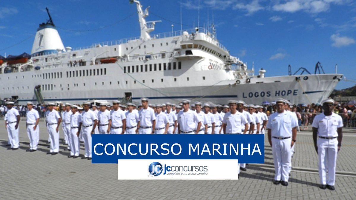 Concurso Marinha para aprendiz-marinheiro