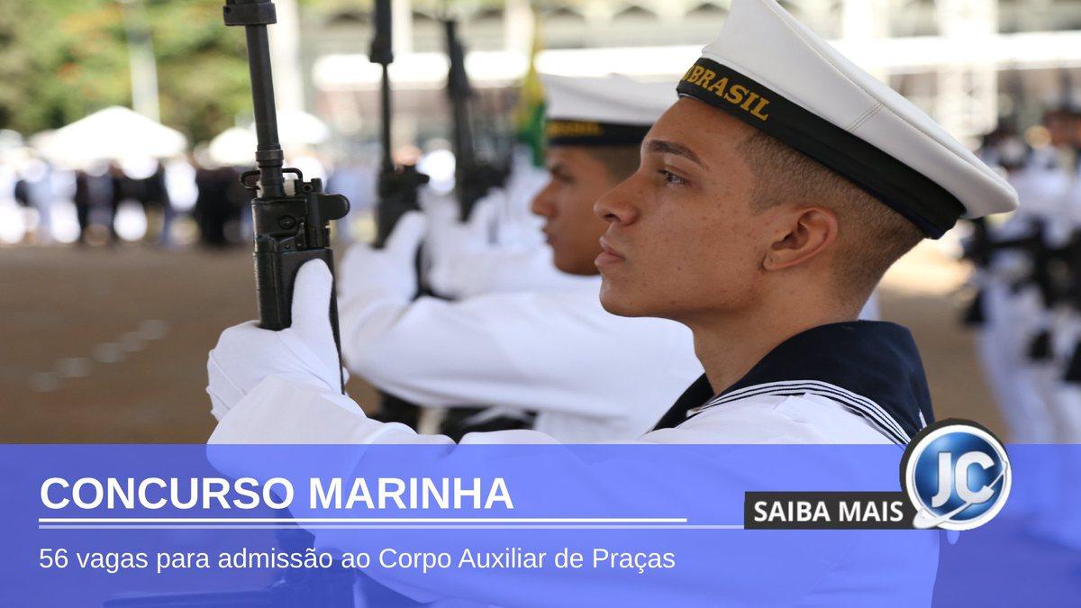 Concurso Marinha - marinheiros perfilados