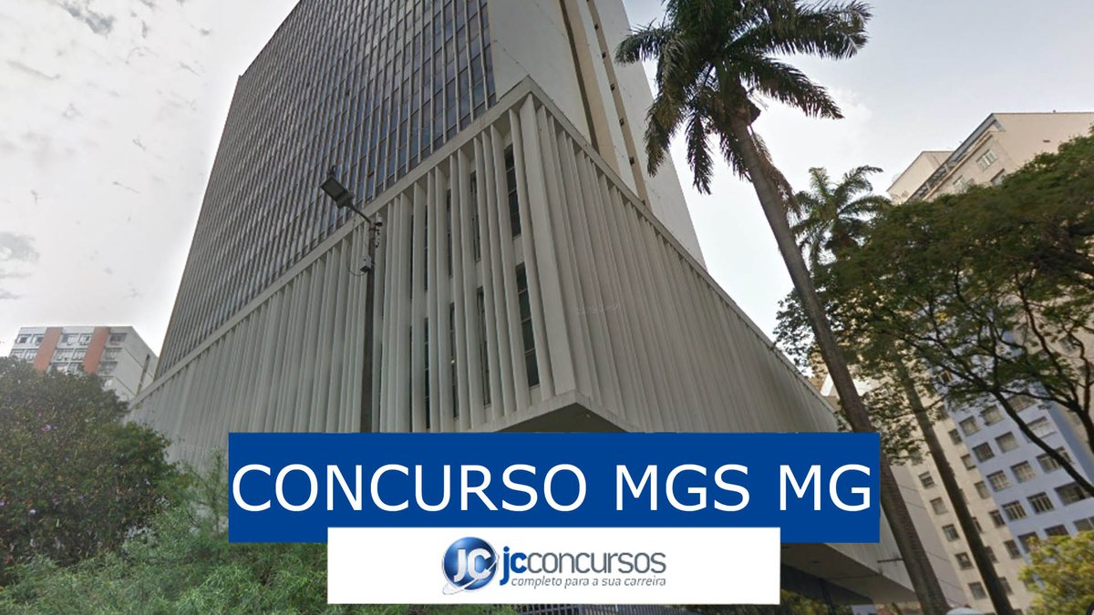 Concurso MGS MG: sede do órgão