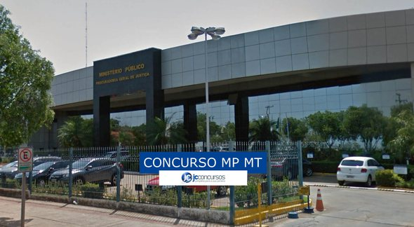 Concurso MP MT: sede do Ministério Público do Mato Grosso - Google Street View