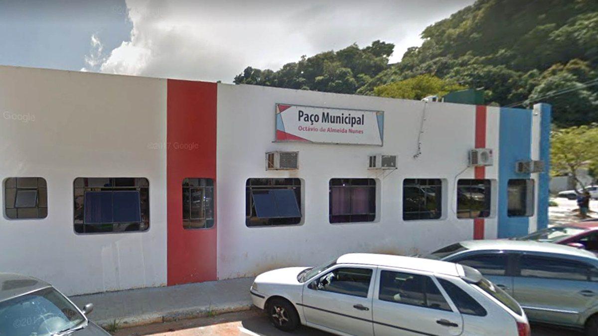 Concurso de Franco da Rocha: sede da prefeitura