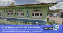 Concurso Prefeitura de Marapanim - sede do Executivo - Google Street View