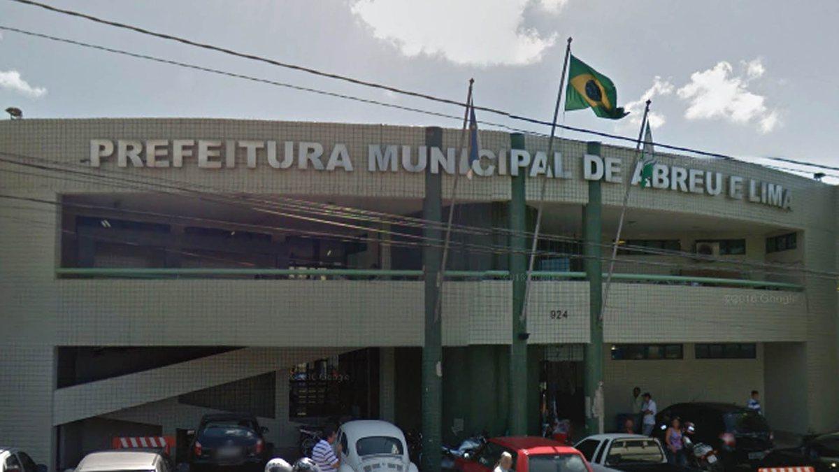 Concurso de Abreu e Lima: sede da prefeitura