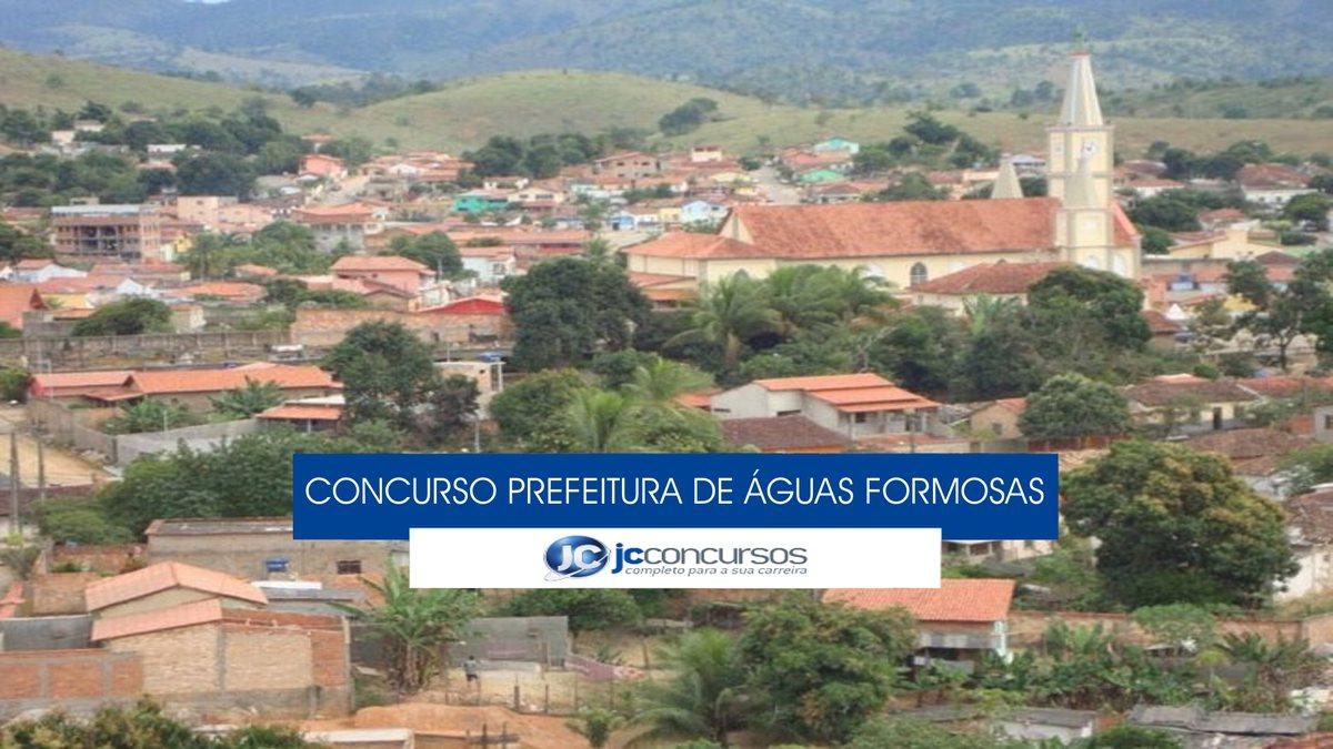 Águas Formosas Minas Gerais fonte: jcconcursos.uol.com.br
