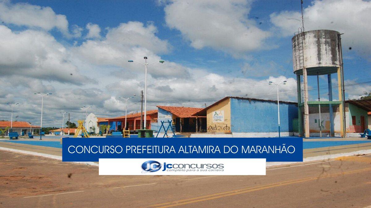 Concurso Prefeitura de Altamira do Maranhão - sede do Executivo