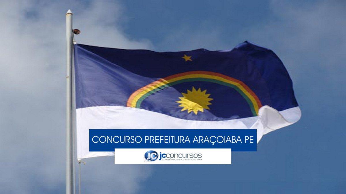 Concurso Prefeitura de Araçoiaba - bandeira do Estado de Pernambuco