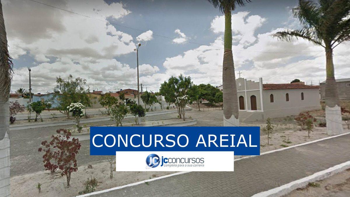 Concurso da Prefeitura de Areial: vista da cidade