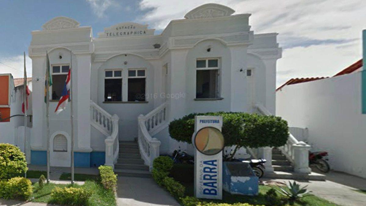 Concurso da Prefeitura da Barra: sede do órgão