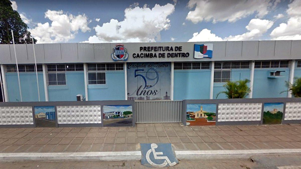 Concurso Prefeitura Cacimba de Dentro - sede do Executivo