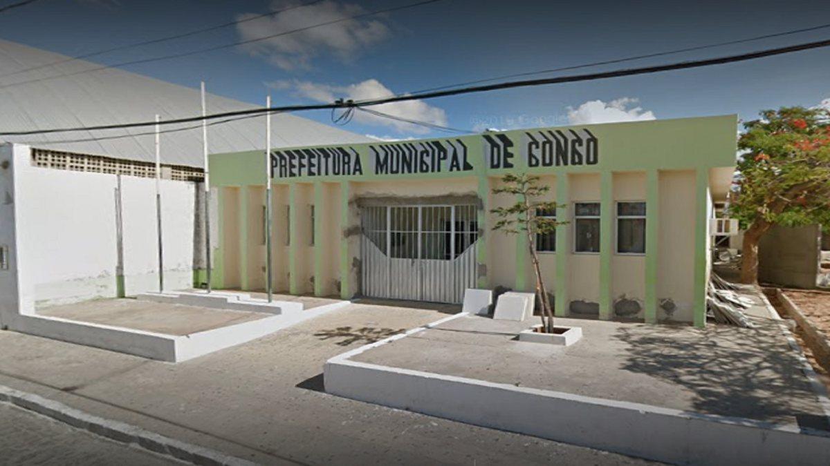 Concurso Prefeitura de Congo - sede do Executivo