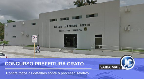 Concurso Prefeitura do Crato - sede do Executivo - Google Street View