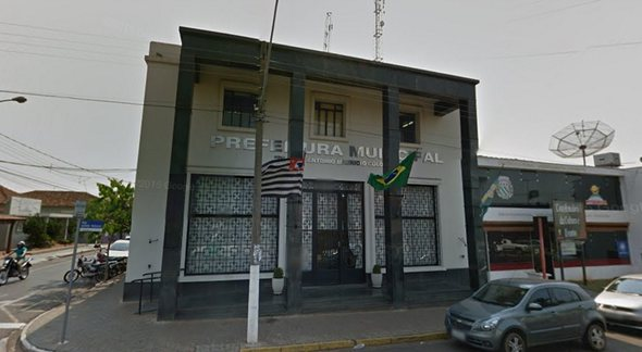 Concurso Prefeitura de Potirendaba: sede do Executivo - Google Street View