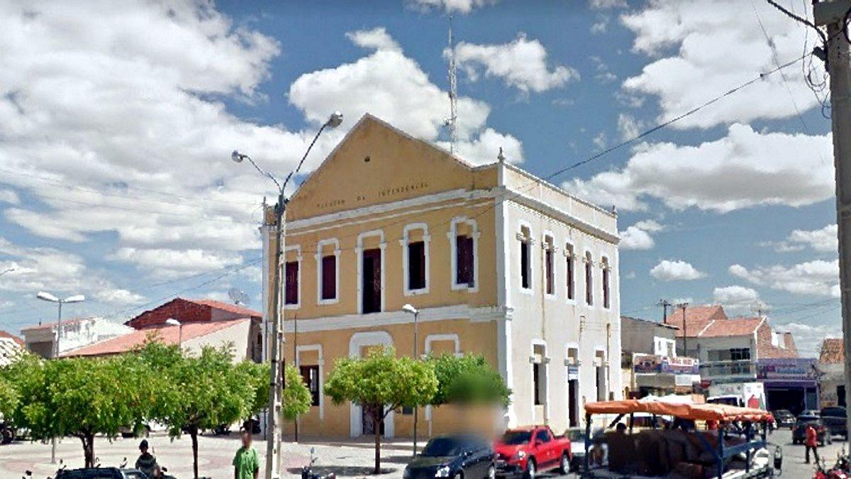 Concurso Prefeitura de Jaguaribe - sede do Executivo