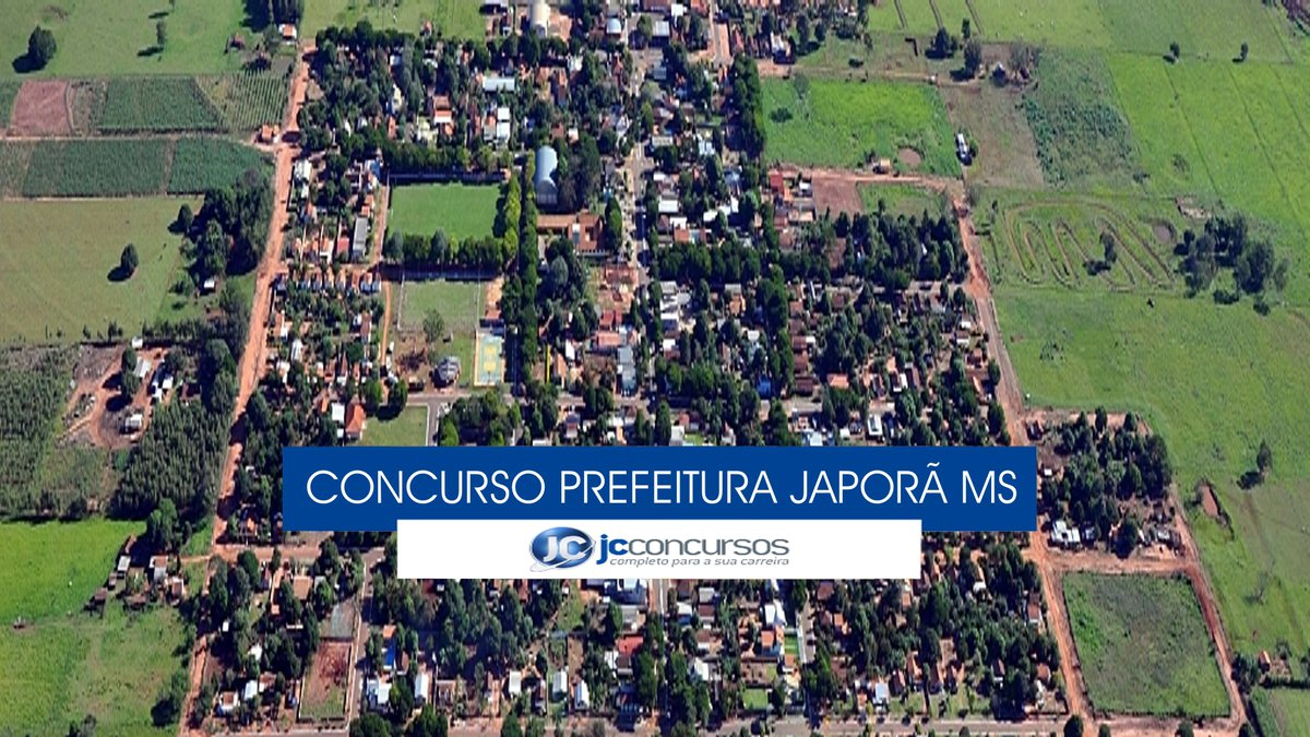 Japorã Mato Grosso do Sul fonte: jcconcursos.uol.com.br