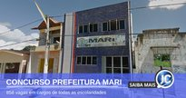 Concurso Prefeitura de Mari - sede do Executivo - Google Street View