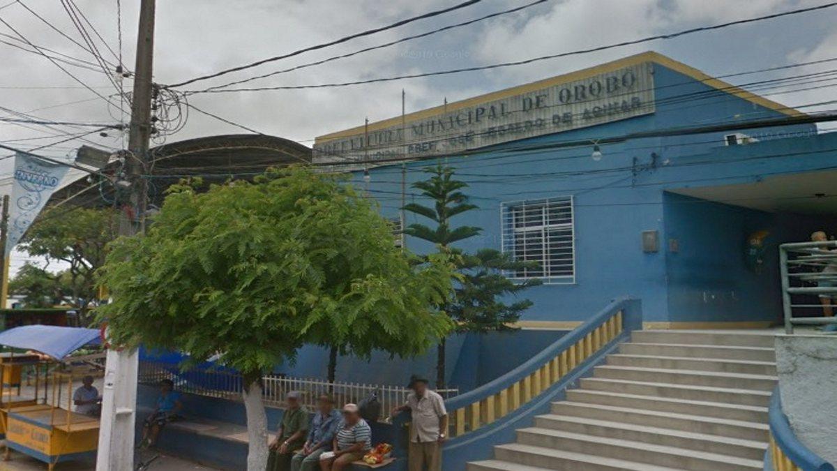 Concurso Prefeitura de Orobó - sede do Executivo