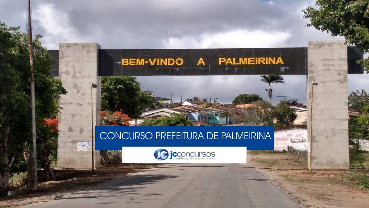 Concurso Prefeitura de Palmeirina: portal de entrada do município