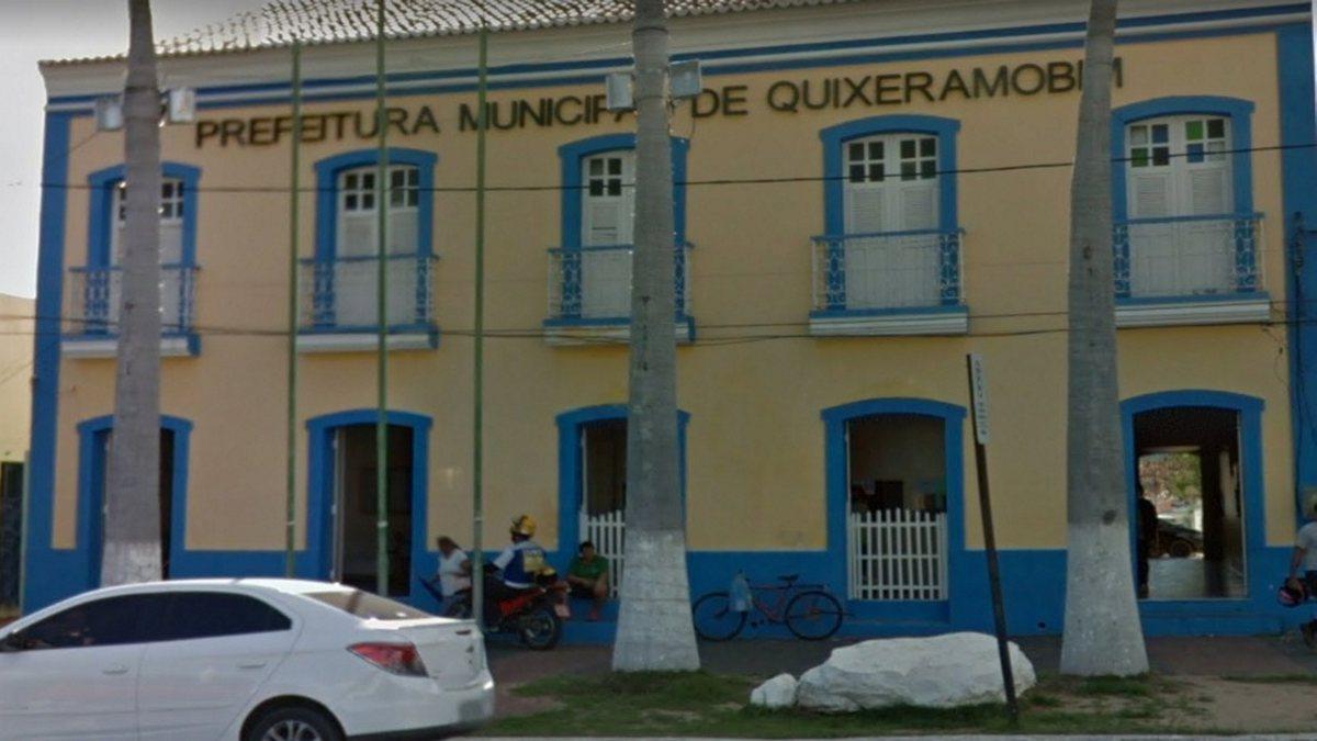 Concurso Prefeitura Quixeramobim - sede do Executivo