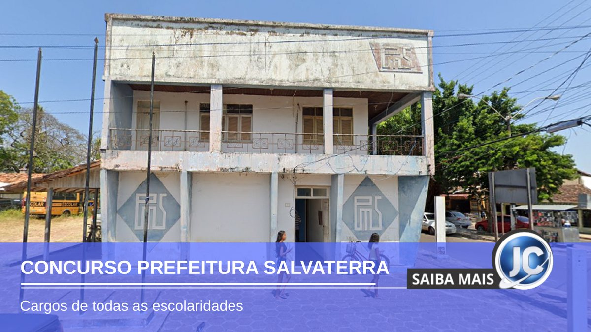 Concurso Prefeitura de Salvaterra - sede do Executivo