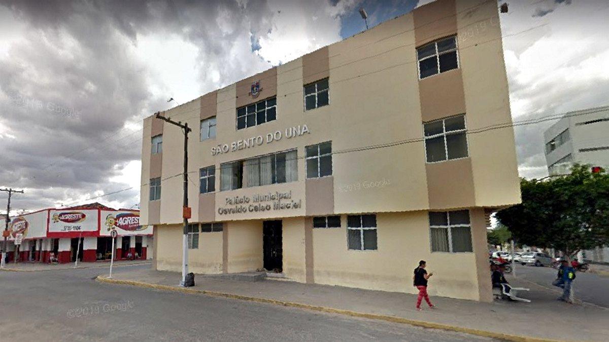 Concurso Prefeitura São Bento do Una - sede do Executivo