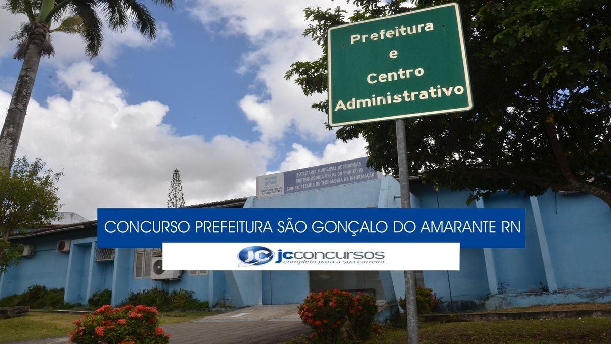 Concurso Prefeitura de São Gonçalo do Amarante RN - sede do Executivo