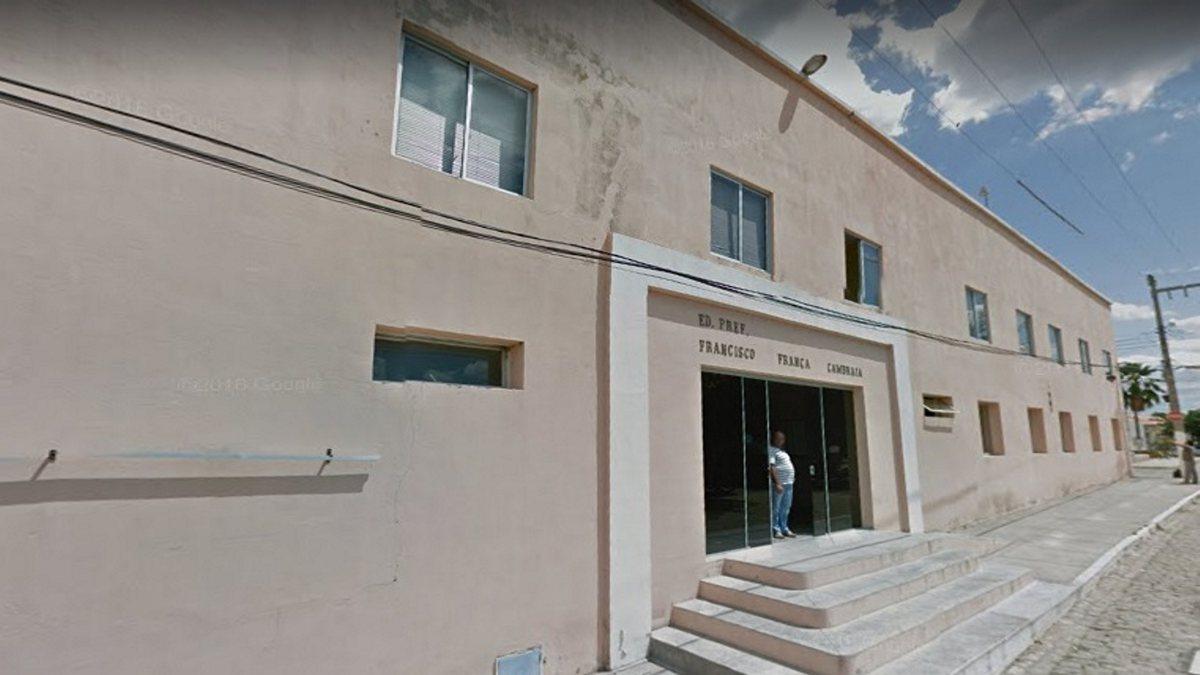 Concurso Prefeitura de Senador Pompeu - sede do Executivo