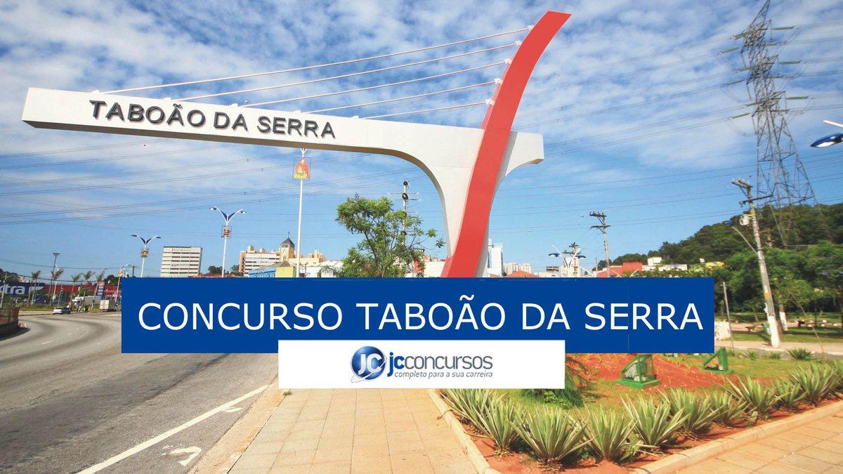 Concurso Prefeitura Taboão da Serra: portal de entrada do município