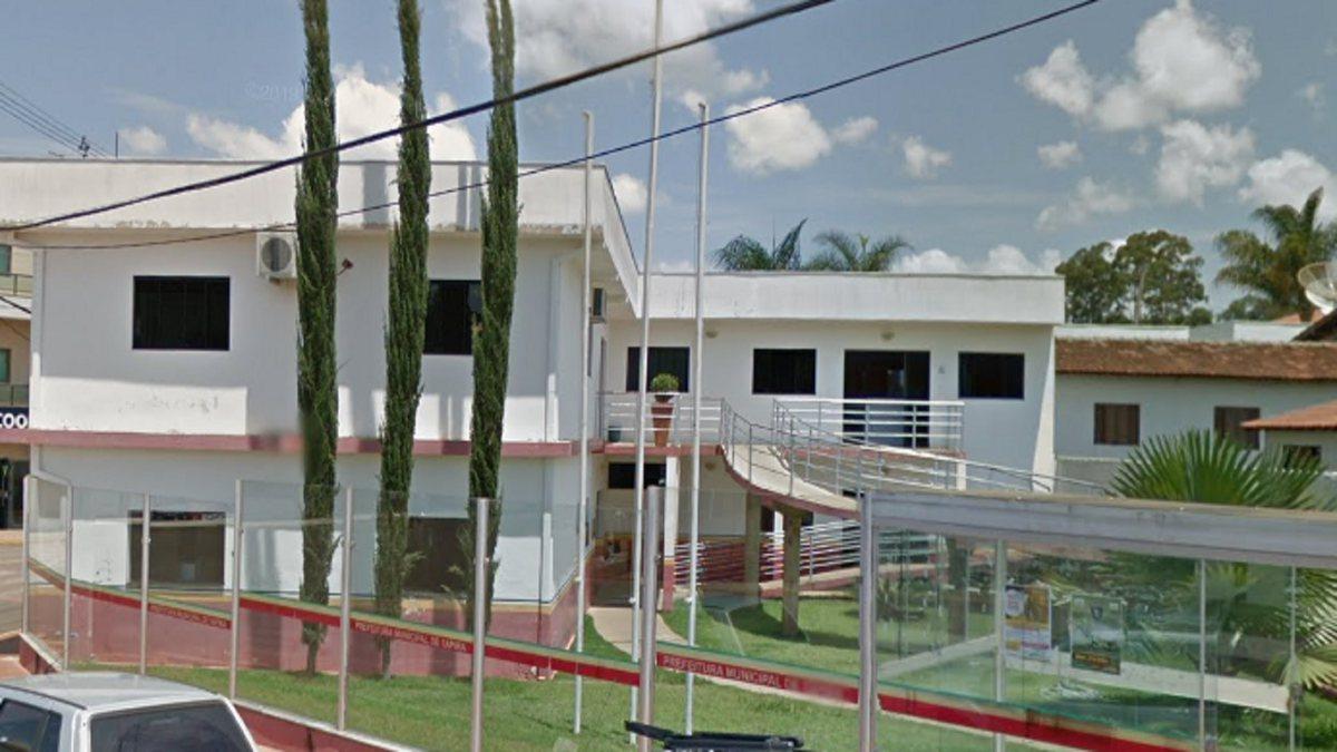 Concurso Prefeitura de Tapira - sede do Executivo