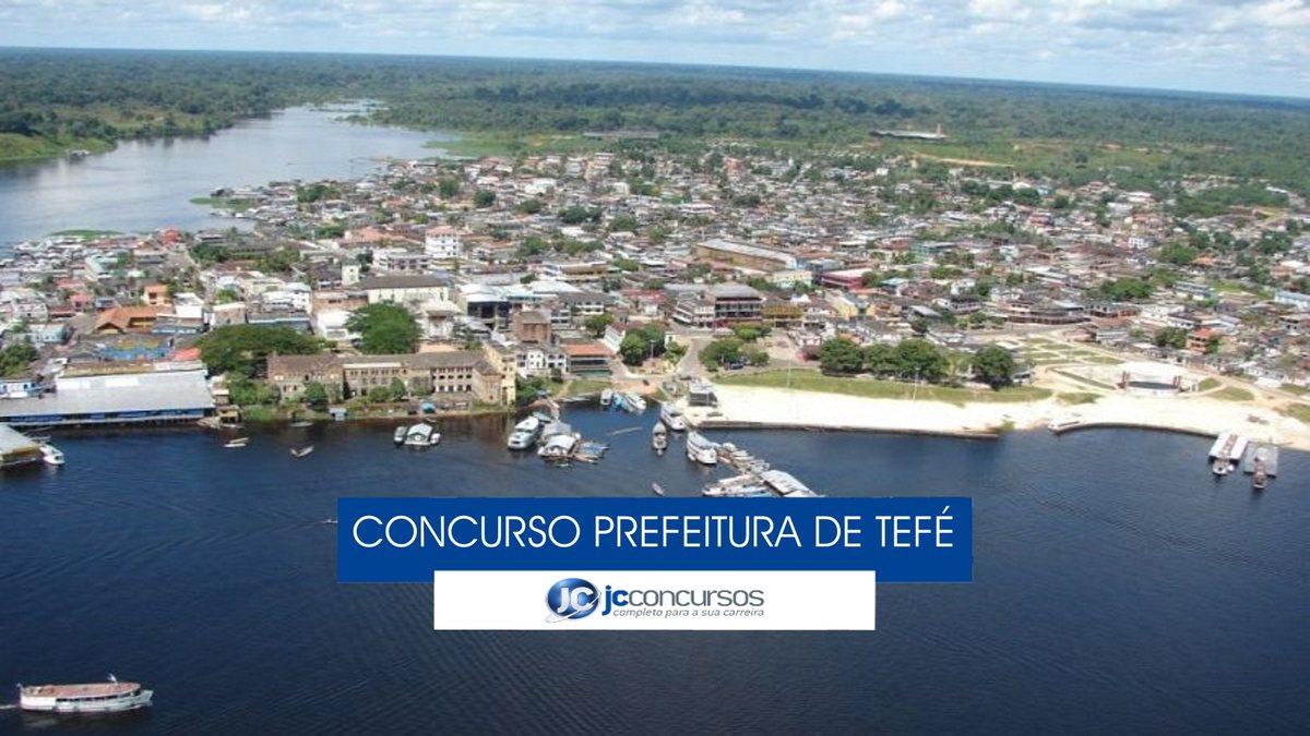 Tefé Amazonas fonte: jcconcursos.uol.com.br