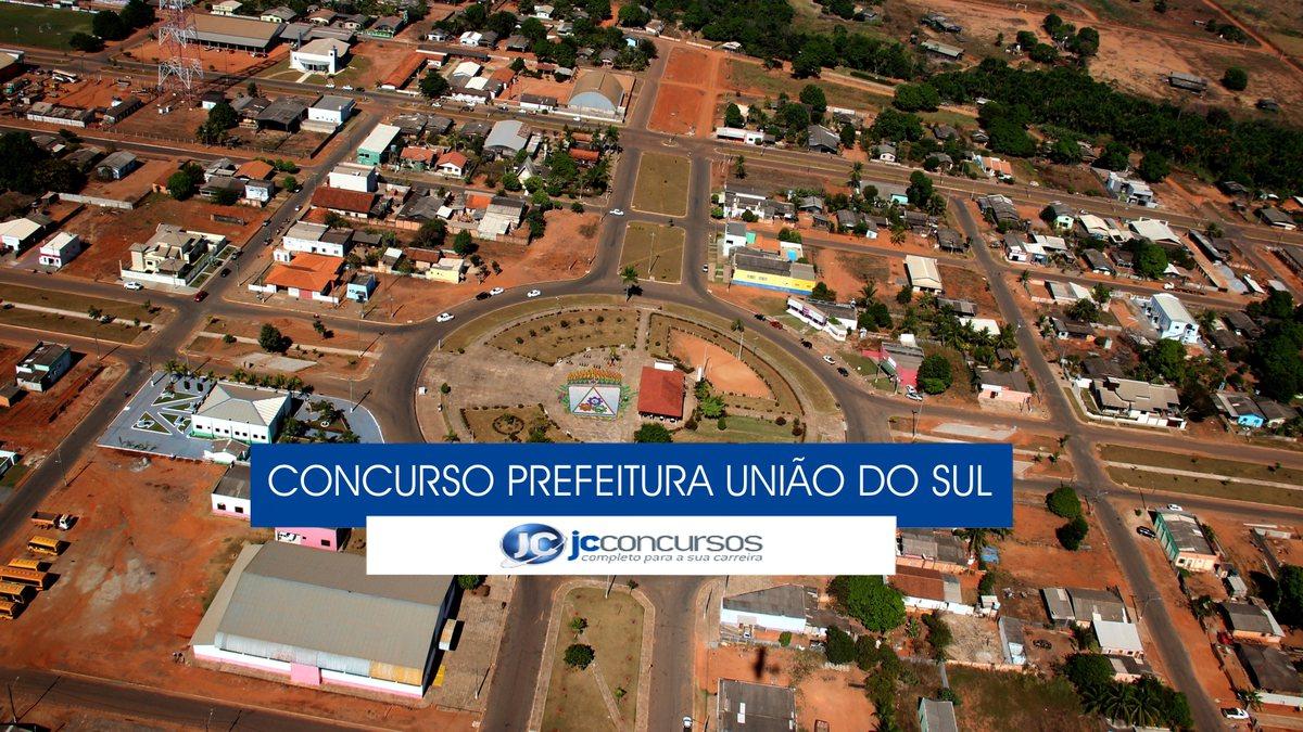 União do Sul Mato Grosso fonte: jcconcursos.uol.com.br