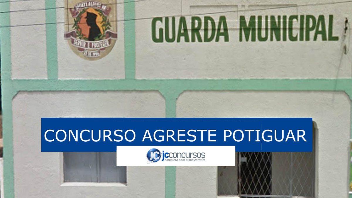 Concurso para guarda do Agreste Potiguar: sede da guarda de Monte Alegre RN
