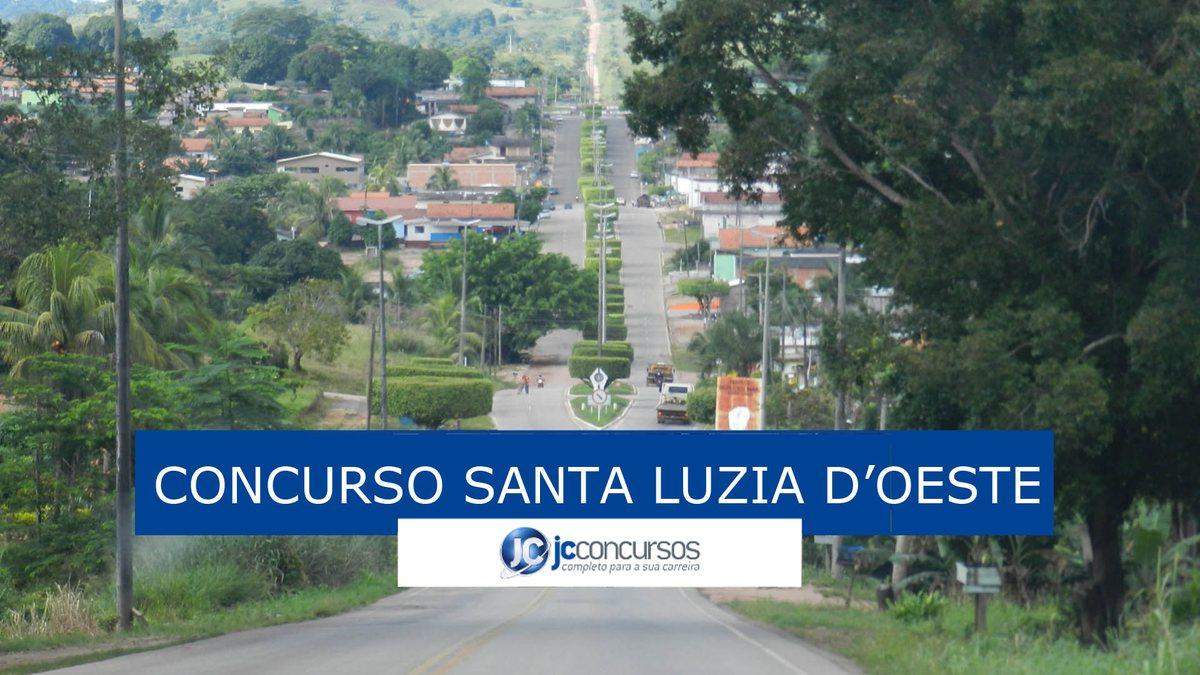 Santa Luzia d'Oeste Rondônia fonte: jcconcursos.uol.com.br