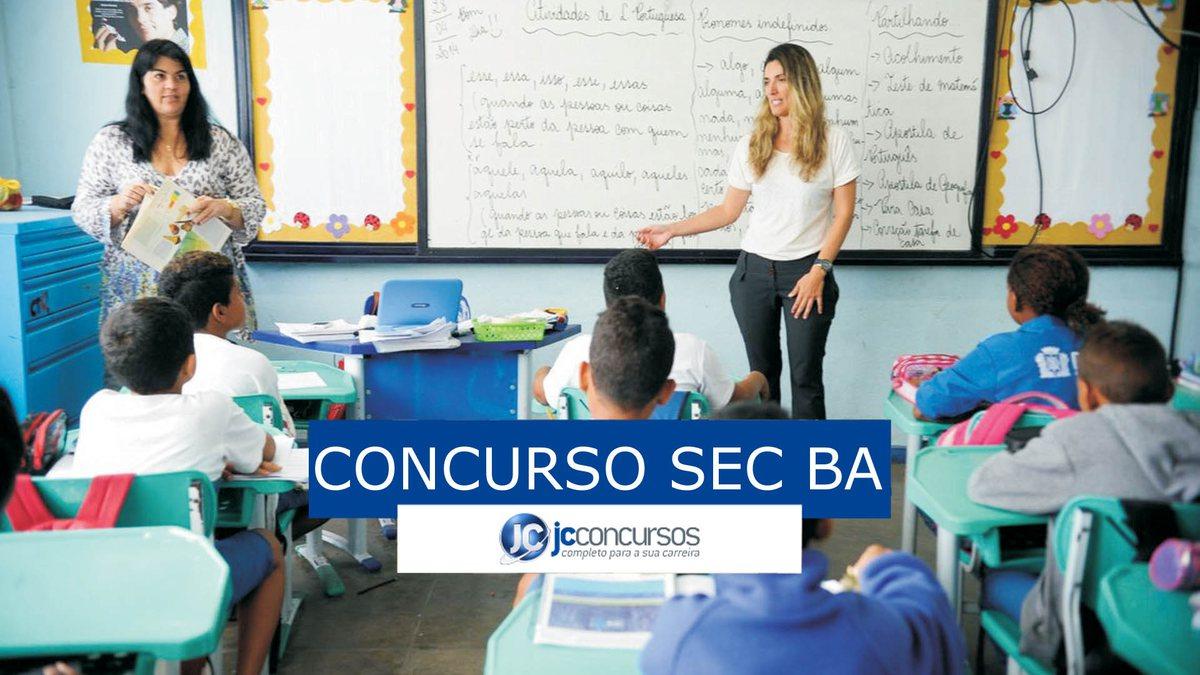 Concurso SEC BA: vagas para professores
